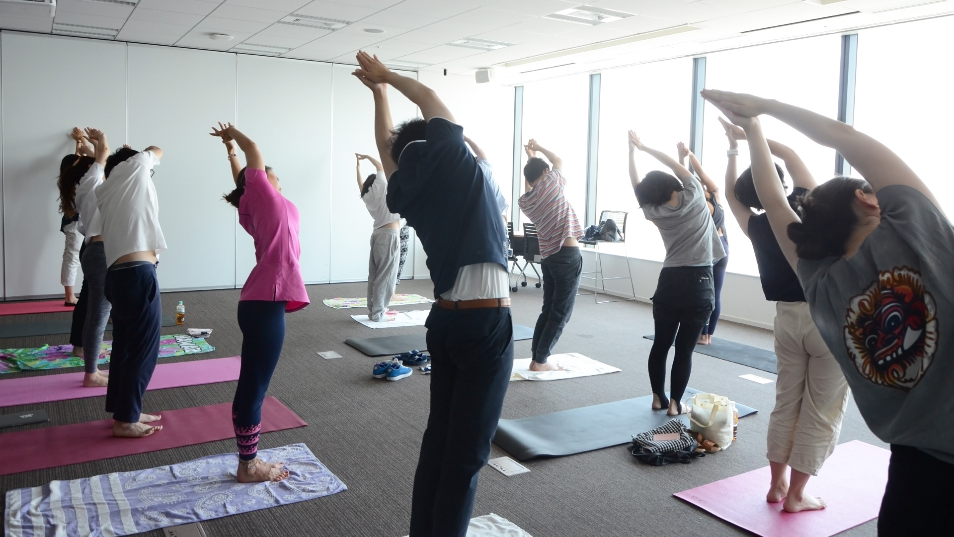 「ReFresh Yoga」の様子