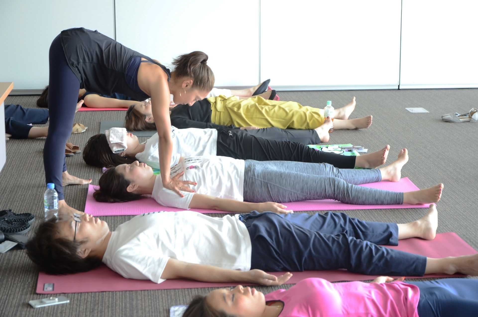 「ReFresh Yoga」の様子2