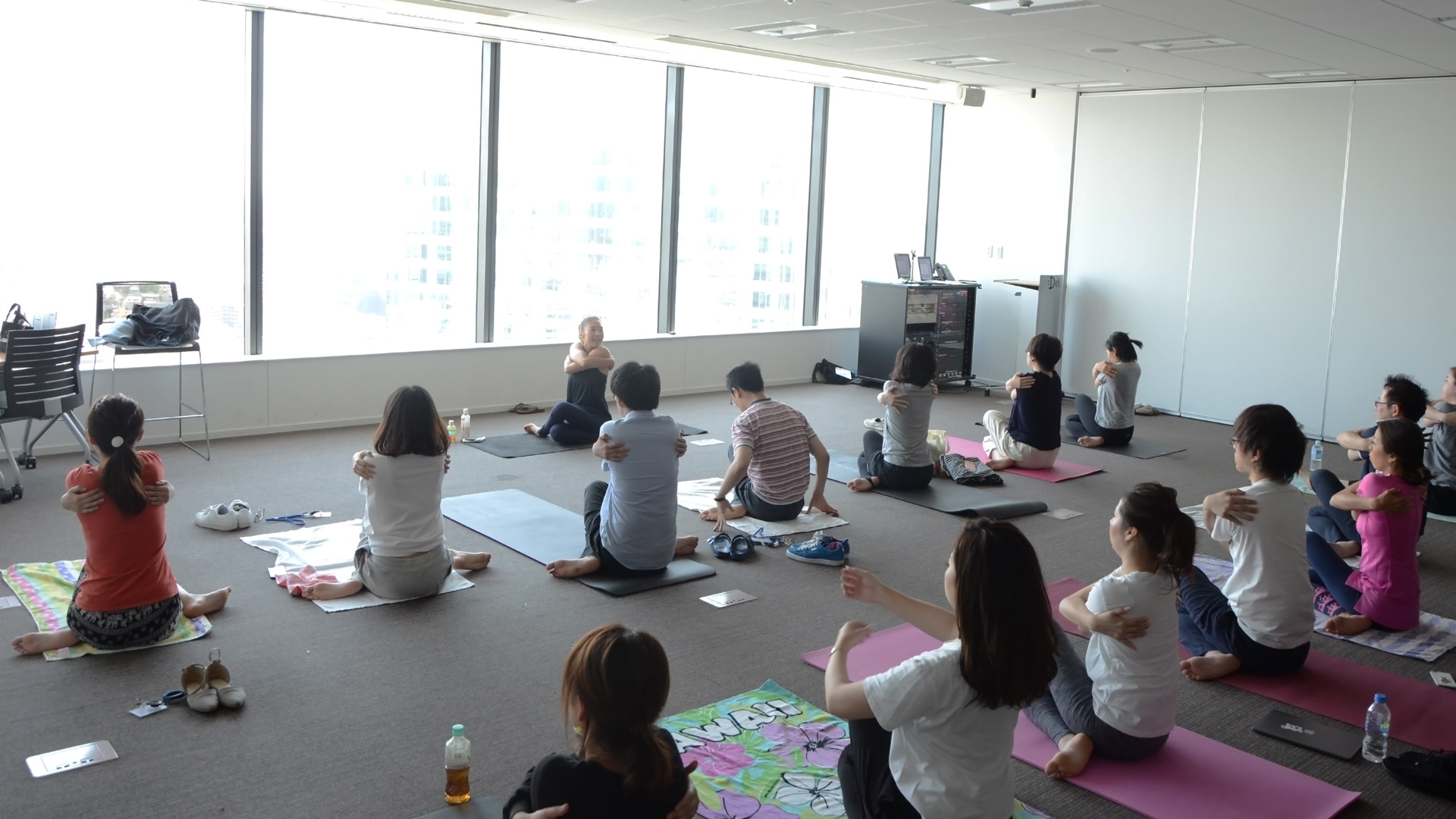 「ReFresh Yoga」の様子3